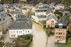 du ville Luxembourg Zdjęcie Stock