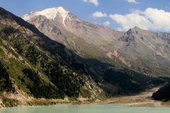 duży Almaty jezioro Zdjęcia Royalty Free