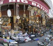 Du?y bazar Ateny zdjęcie royalty free