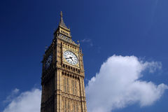 duży ben England London Fotografia Royalty Free