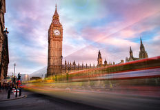 duży ben London Obrazy Royalty Free