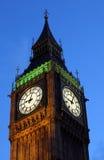 duży Ben noc London Obraz Royalty Free