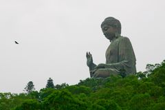 Duży Buddha fotografia stock