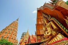 Duży Buddha I wysoka pagoda Zdjęcie Royalty Free