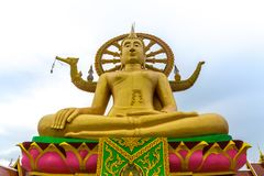 duży Buddha koh samui Thailand obraz stock