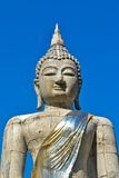 Duży Buddha niebieskie niebo I statua Zdjęcia Stock