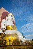 Duży Buddha w Myanmar Zdjęcie Royalty Free