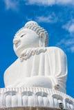 Duży Buddha w niebieskim niebie Phuket Tajlandia Obrazy Stock