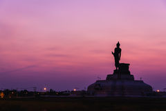 Duży Buddha zabytku park Zdjęcia Stock