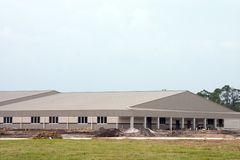 duży budynek budowy Obraz Royalty Free
