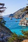 duży California linii brzegowej sur Zdjęcie Stock