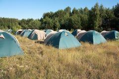 duży camping Obraz Stock