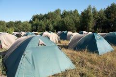 duży camping Zdjęcia Stock