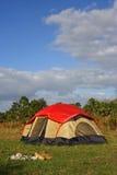 duży campingowy cyprys Zdjęcia Stock