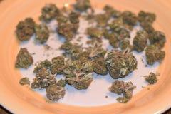 Du?y Chem marihuany napi?cie obraz stock