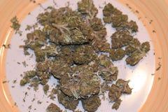 Du?y Chem marihuany napi?cie fotografia royalty free