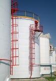 Duży chemiczna cysternowa benzyna. obraz royalty free