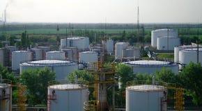 Duży chemiczna cysternowa benzyna. zdjęcia stock