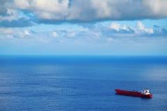 Duży Chemiczny tankowiec Zdjęcia Royalty Free
