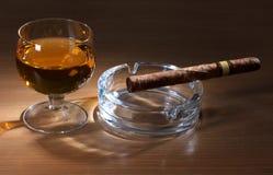 duży cygarowy whisky Obraz Stock