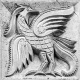 Duży czarodziejski ptak Obrazy Stock