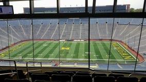 Duży dom, michigan stadium, Ann Arbor Obraz Royalty Free