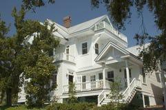 duży dom white Zdjęcia Royalty Free