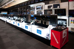 duży elektroniczny sklep detaliczny Obraz Stock