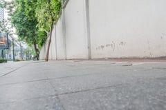 Duży footpath Fotografia Royalty Free