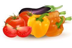 duży grupowi warzywa Obraz Royalty Free