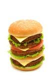 duży hamburger Fotografia Stock