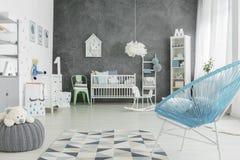 Duży i lekki pokój dla dziecka Zdjęcie Stock