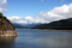 duży jezioro Fotografia Stock