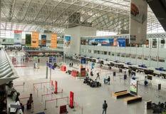 Duży lotnisko Zdjęcia Royalty Free
