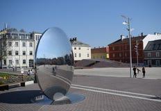 duży lustro Zdjęcie Stock