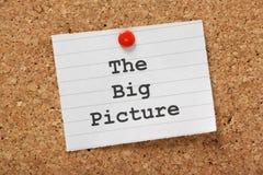 Duży obrazek Zdjęcia Royalty Free