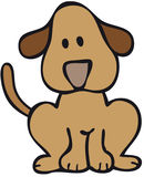duży pies royalty ilustracja