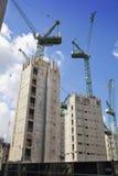 Duży plac budowy w banka anglii aria Obraz Royalty Free