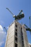 Duży plac budowy w banka anglii aria Zdjęcia Royalty Free