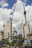 Duży plac budowy w banka anglii aria Obrazy Royalty Free