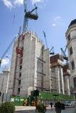 Duży plac budowy w banka anglii aria Fotografia Royalty Free