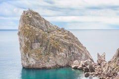 duży rockowy morze Obrazy Stock