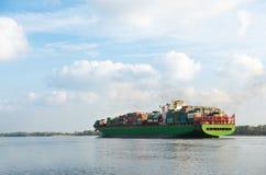 duży statek towarowy Obrazy Royalty Free