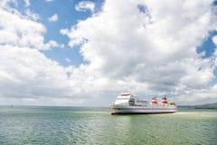 duży statek towarowy Fotografia Stock