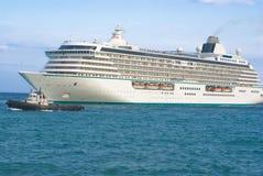 duży statek wycieczkowy Zdjęcia Royalty Free