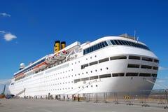 duży statek wycieczkowy Zdjęcie Stock