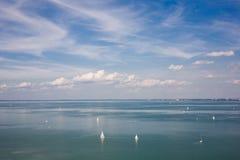 duży wakacyjny jeziorny lato Fotografia Royalty Free