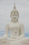 Duży wizerunek Buddha w Thailand Zdjęcia Royalty Free