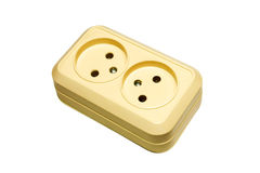 Dual appliance receptacle Stock Photography