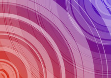 Dual background. Dual color background with circle Royalty Free Stock Photography